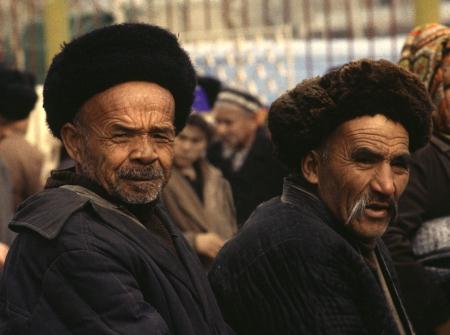 Two Men in Osh